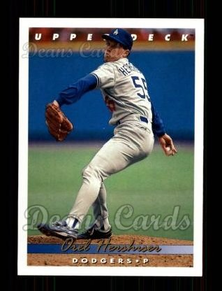 1993 Upper Deck #169  Orel Hershiser