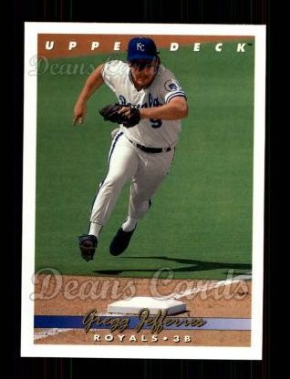 1993 Upper Deck #176  Gregg Jefferies