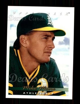 1993 Upper Deck #182  Mike Moore