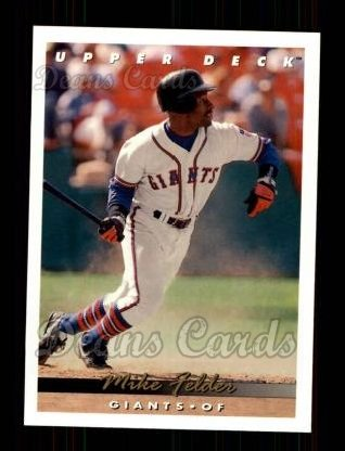 1993 Upper Deck #186  Mike Felder