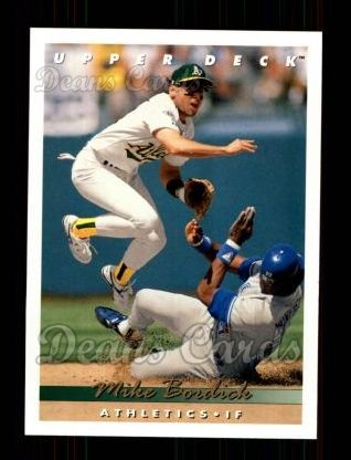 1993 Upper Deck #189  Mike Bordick