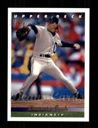 1993 Upper Deck #202  Dennis Cook