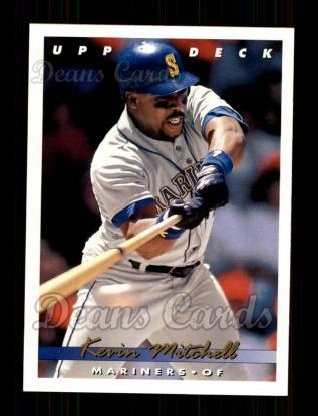 1993 Upper Deck #213  Kevin Mitchell