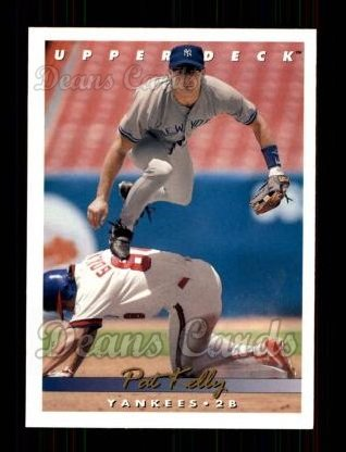 1993 Upper Deck #215  Pat Kelly