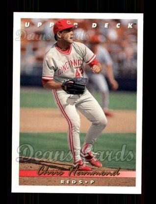 1993 Upper Deck #216  Chris Hammond