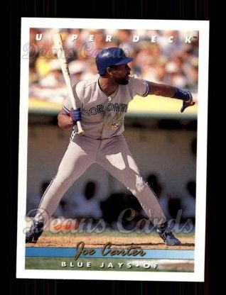 1993 Upper Deck #223  Joe Carter