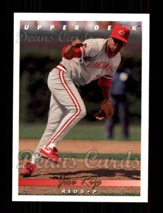 1993 Upper Deck #226  Jose Rijo