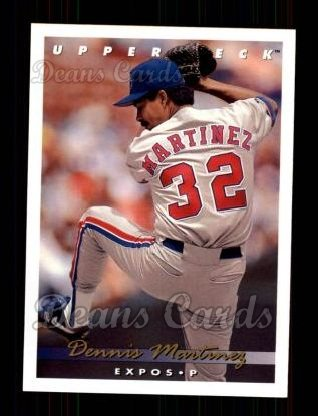 1993 Upper Deck #232  Dennis Martinez
