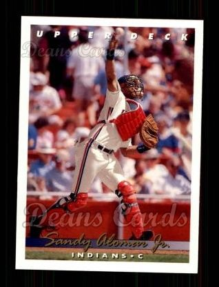 1993 Upper Deck #255  Sandy Alomar Jr.