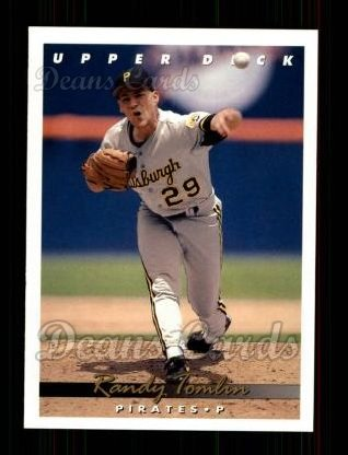 1993 Upper Deck #284  Randy Tomlin
