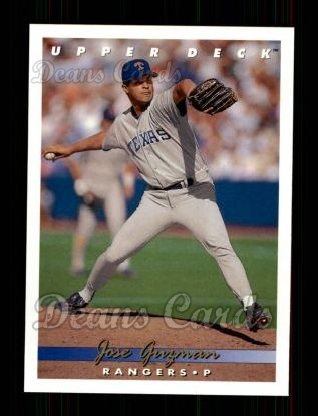 1993 Upper Deck #323  Jose Guzman