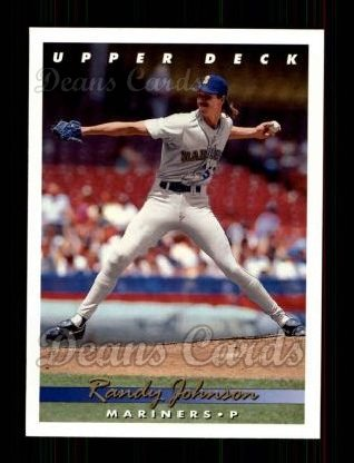 1993 Upper Deck #336  Randy Johnson