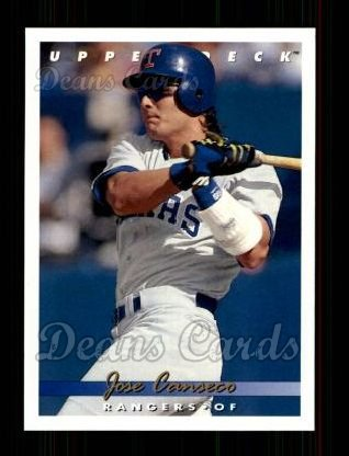 1993 Upper Deck #365  Jose Canseco