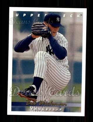 1993 Upper Deck #372  Bob Wickman