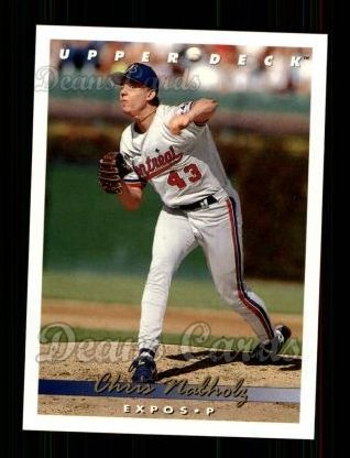 1993 Upper Deck #404  Chris Nabholz