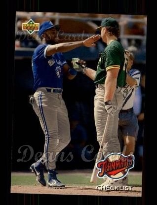1993 Upper Deck #41  Mark McGwire / Joe Carter