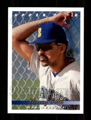 1993 Upper Deck #411  Henry Cotto
