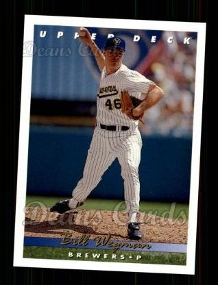 1993 Upper Deck #416  Bill Wegman
