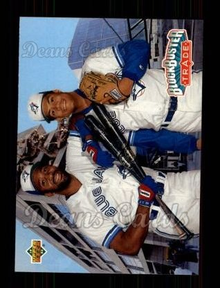 1993 Upper Deck #42  Roberto Alomar / Joe Carter