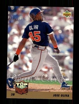 1993 Upper Deck #426  Jose Oliva