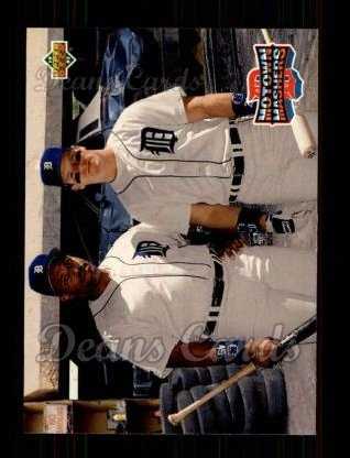 1993 Upper Deck #46  Cecil Fielder / Mickey Tettleton