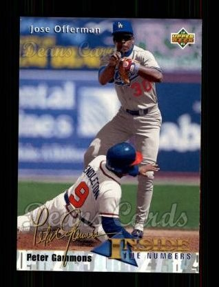 1993 Upper Deck #464  Jose Offerman