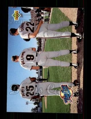 1993 Upper Deck #471  Barry Bonds / Matt Williams / Will Clark