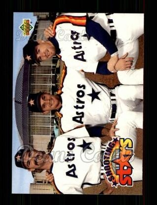 1993 Upper Deck #475  Craig Biggio / Doug Drabek / Jeff Bagwell