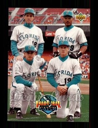 1993 Upper Deck #479  Dave Magadan / Orestes Destrade / Bret Barberie / Jeff Conine