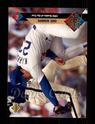 1993 Upper Deck #490   -  Eric Karros Award Winners