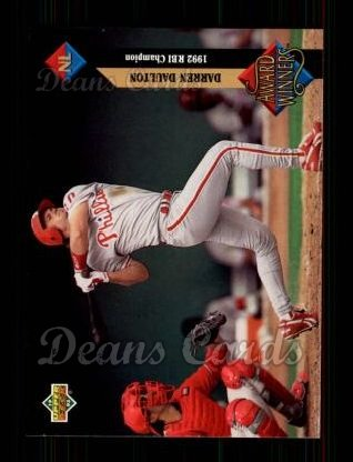 1993 Upper Deck #498   -  Darren Daulton Award Winners