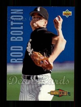 1993 Upper Deck #502  Rod Bolton