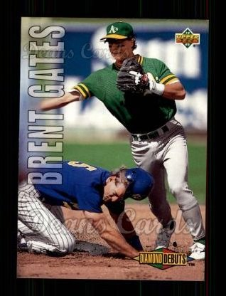 1993 Upper Deck #504  Brent Gates