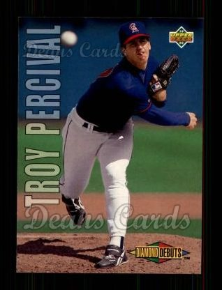 1993 Upper Deck #507  Troy Percival