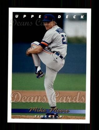 1993 Upper Deck #512  Mike Moore
