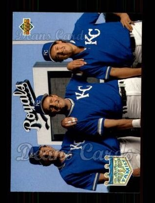 1993 Upper Deck #54  Wally Joyner / Gregg Jefferies / George Brett