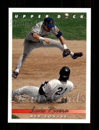 1993 Upper Deck #602  Luis Rivera
