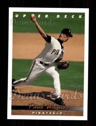 1993 Upper Deck #643  Paul Wagner
