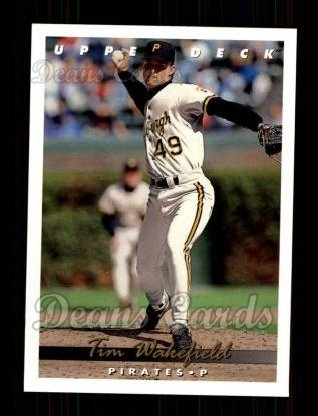 1993 Upper Deck #66  Tim Wakefield