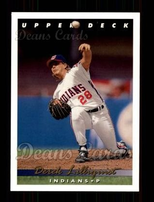 1993 Upper Deck #70  Derek Lilliquist