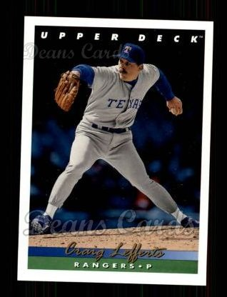 1993 Upper Deck #718  Craig Lefferts