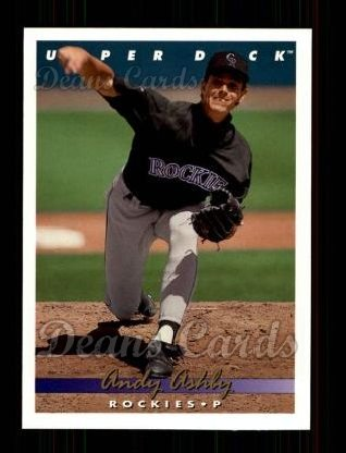1993 Upper Deck #763  Andy Ashby