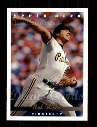 1993 Upper Deck #78  Bob Walk