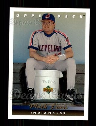 1993 Upper Deck #88  Mark Lewis