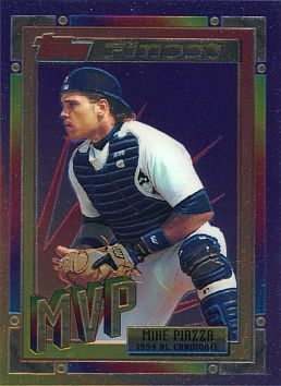 1994 Topps Finest #2  Mike Piazza