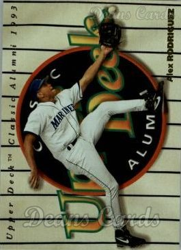 1994 Upper Deck #298  Alex Rodriguez