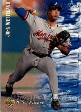 1994 Upper Deck #32   -  John Wetteland Fantasy Team