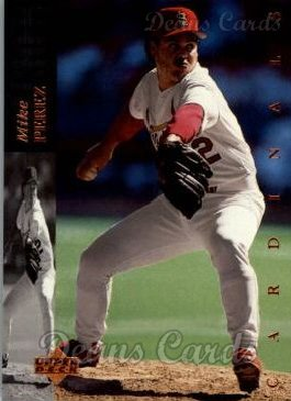 1994 Upper Deck #357  Mike Perez