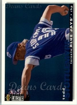 1995 Upper Deck Collector's Choice #152  Todd Stottlemyre