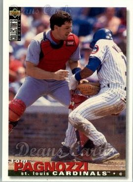 1995 Upper Deck Collector's Choice #193  Tom Pagnozzi